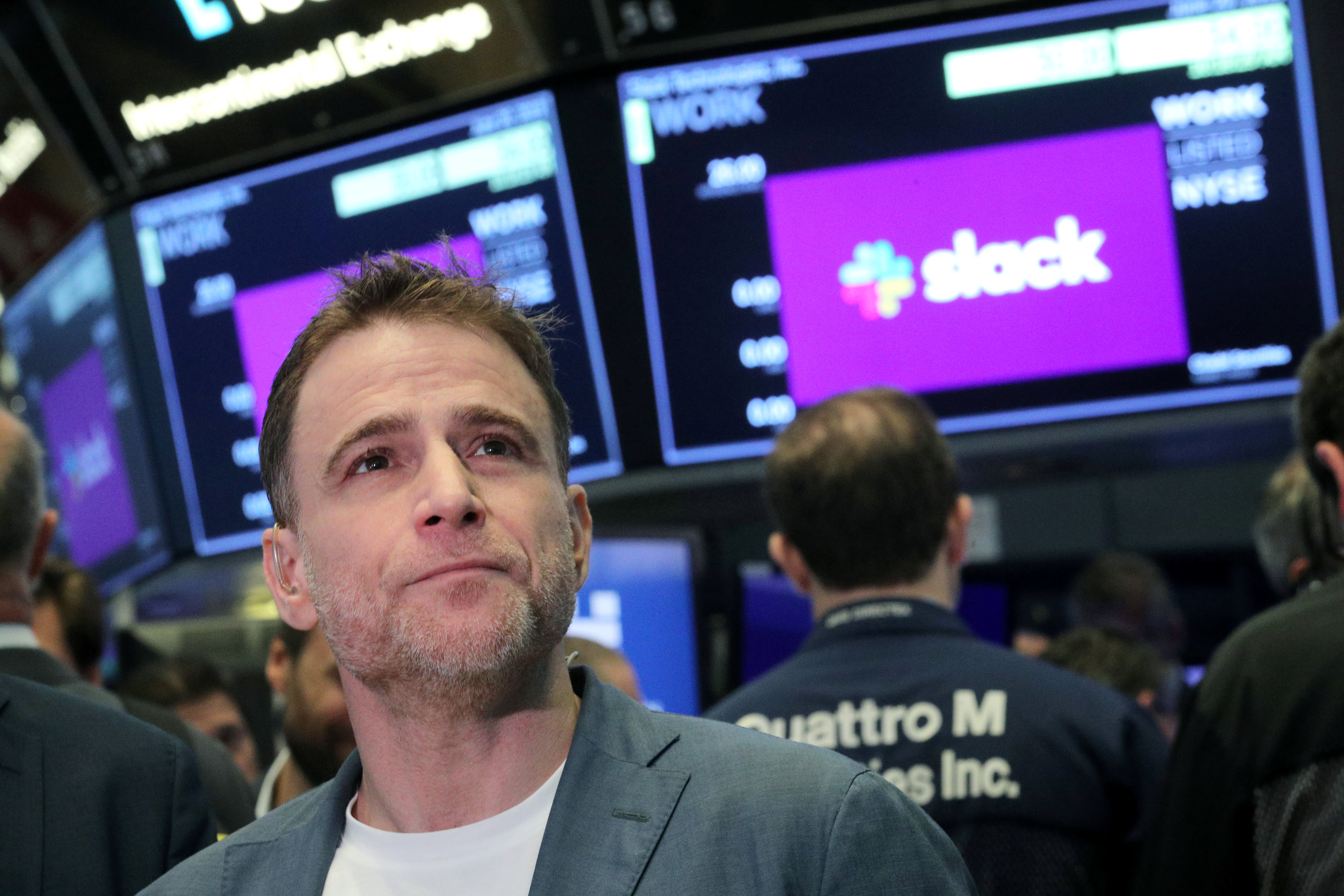 06 >> Slack Direct Listing Stock Begins Trading On New York Stock Exchange