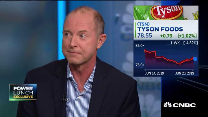 Tyson Foods CFO breaks down future of alt-meat market