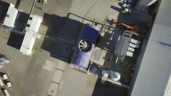Carbon Engineering's pilot plant in Squamish, British Columbia
