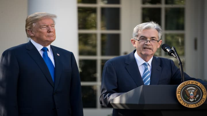 President Trump on Fed's Powell: He hasn't done a good job