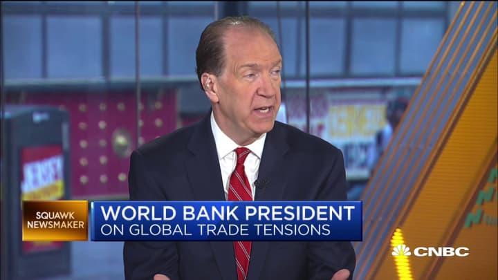 Watch CNBC's full interview with World Bank President David Malpass