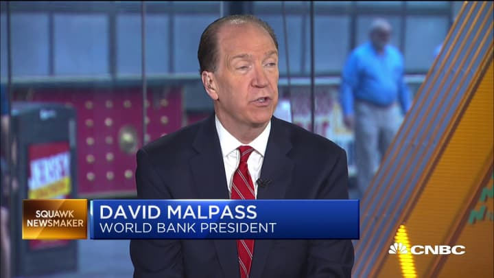 World Bank President David Malpass on global trade tensions