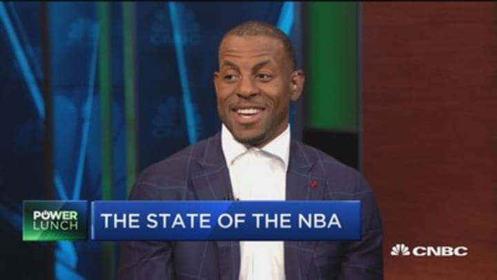 Where does Andre Iguodala think KD will go? And who's toughest to defend?