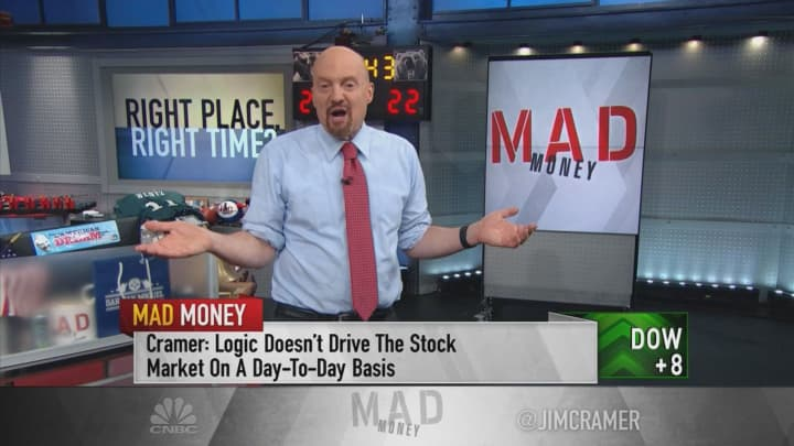 Relying on luck is dangerous, Jim Cramer says — always understand why your stock is moving