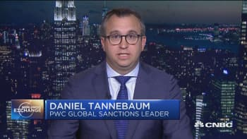 PwC's Tannebaum: New US sanctions make it that much harder to negotiate with Iran