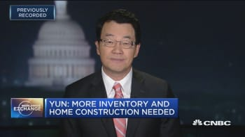 NAR's Yun: The US is short on the supply of available homes, based on job and population growth