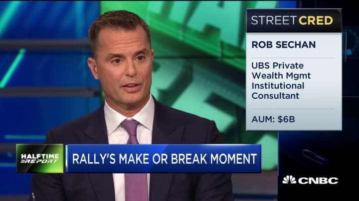 UBS' Rob Sechan: Good news on tariffs from G-20 summit could cause mid-summer melt-up