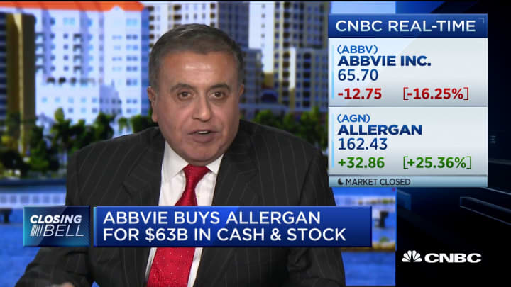 AbbVie and Allergan deal likely to go through, says expert