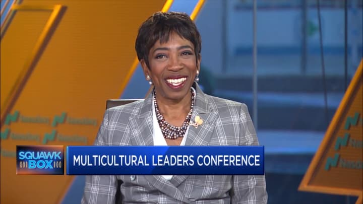 Morgan Stanley's Carla Harris discusses the company's senior multicultural leaders conference