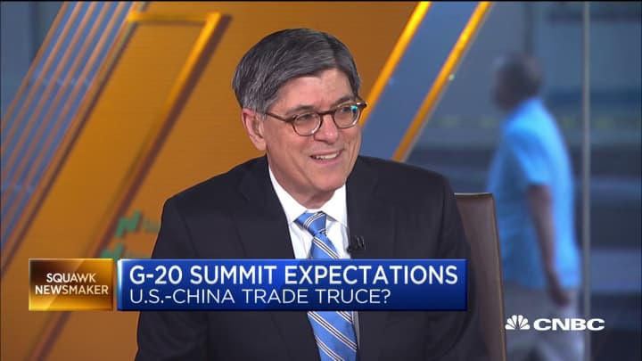 Former Treasury Secretary Jack Lew: 'The real risk to the economy is self-inflicted'