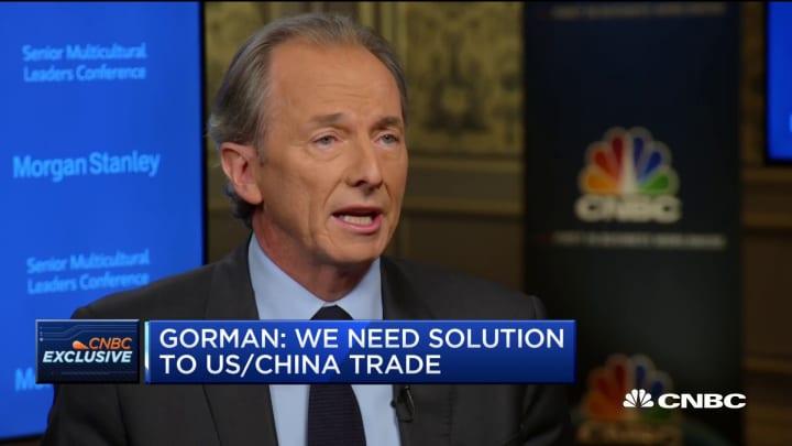 Morgan Stanley's Gorman: Trade war would be 'devastating