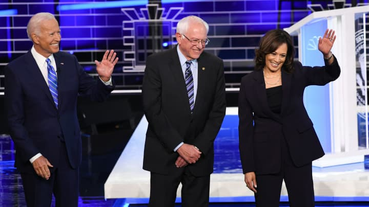 Two former congressmen react to the second night of the Dem debates