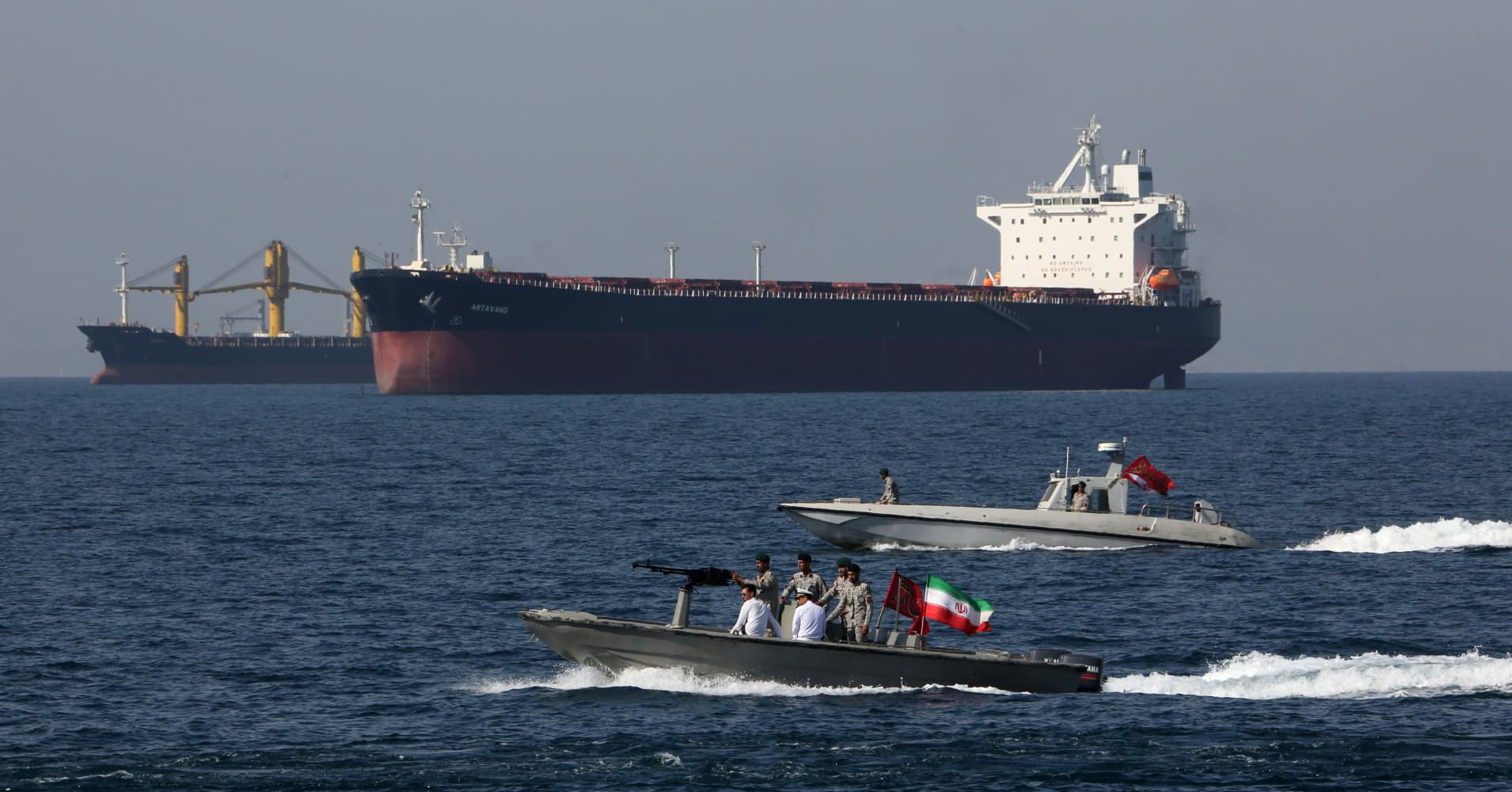 Iran crisis: Trump wants countries to protect their own oil tankers