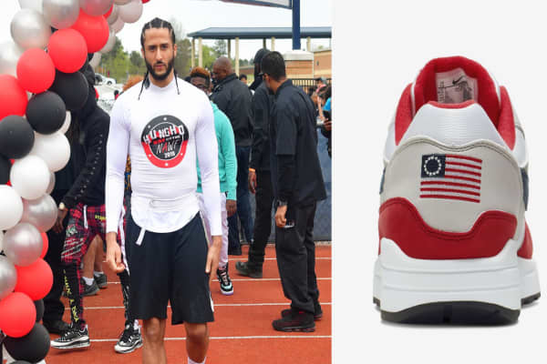 a111e880183 Nike cancels shoe featuring 18th century American flag lapszemle ...