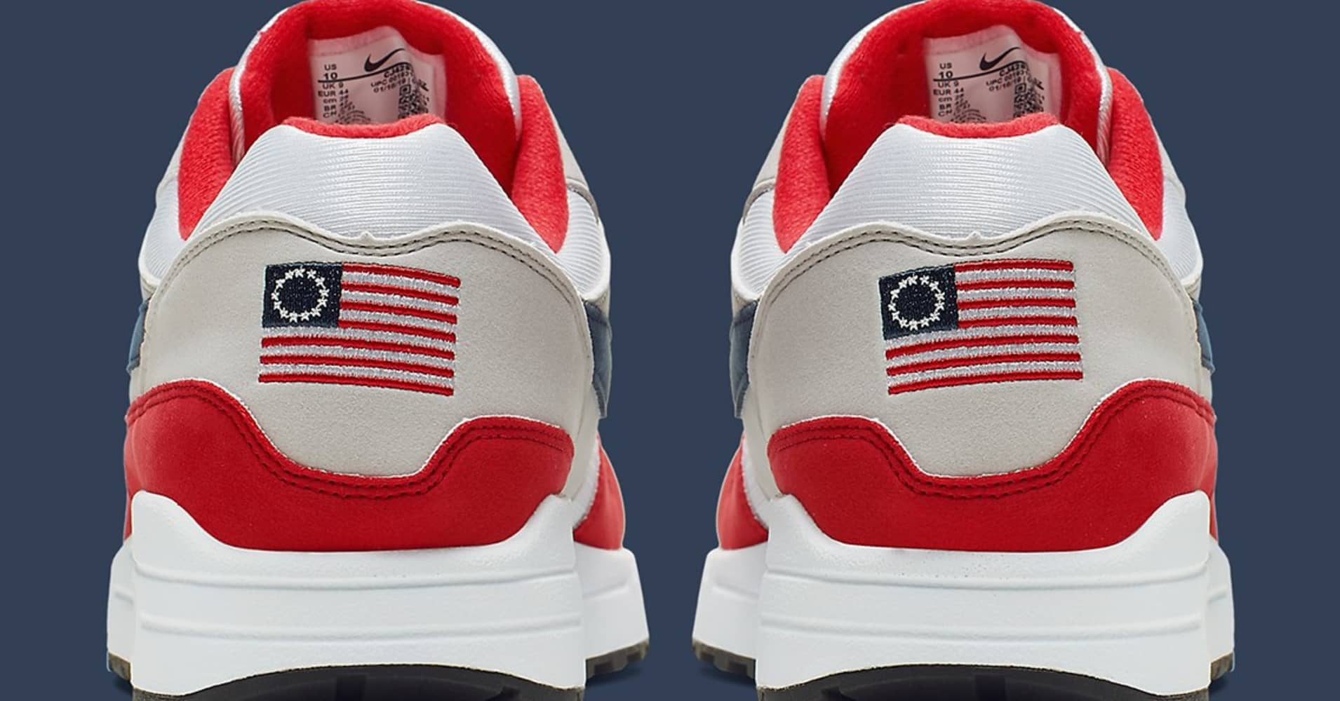 612de875 Arizona governor to withdraw Nike financial incentives after shoe company  pulls 'Betsy Ross' American flag sneakers