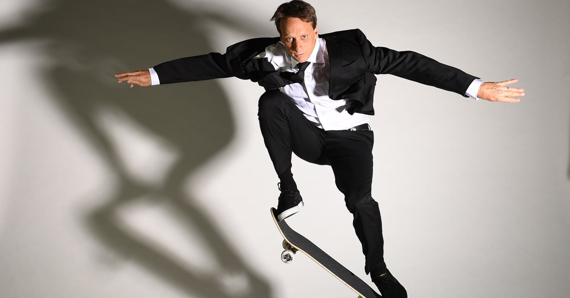 Tony Hawk: The skateboard legend on being a misfit and a mogul — and landing that 900-degree spin