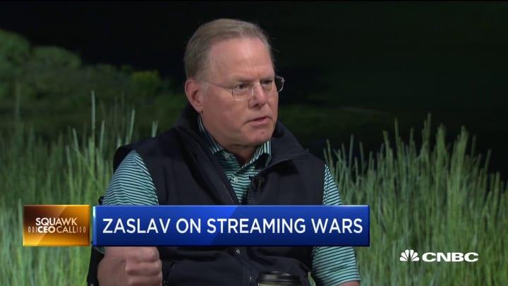 CEO David Zaslav explains how Discovery has 'side stepped' the streaming wars