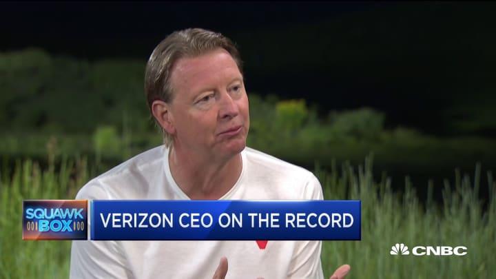 Verizon CEO Hans Vestberg: US-China trade war will not impact our success