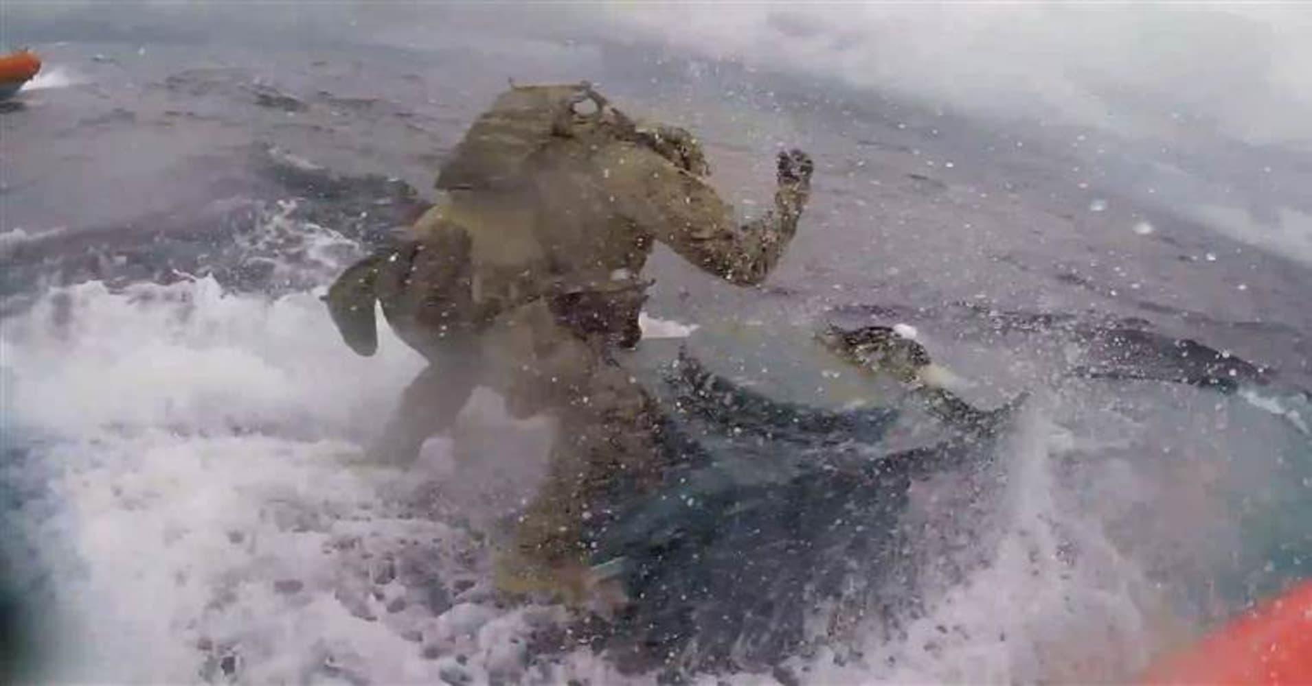 Watch the US Coast Guard make a dramatic drug bust