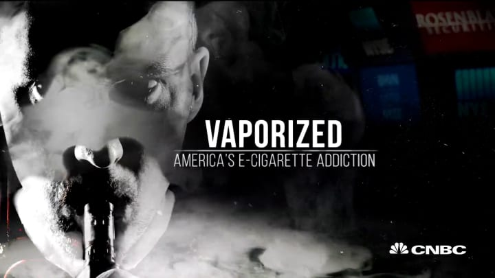An inside look at CNBC's report on America's e-cigarette addiction