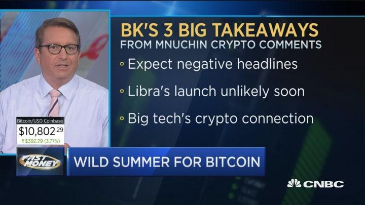 Here's what Treasury Sec. Steve Mnuchin said about Facebook's Libra