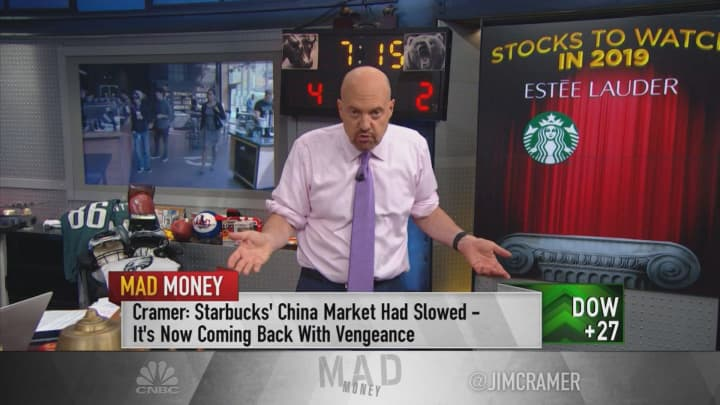 Stocks the big fund investors want over the rest of 2019: Jim Cramer