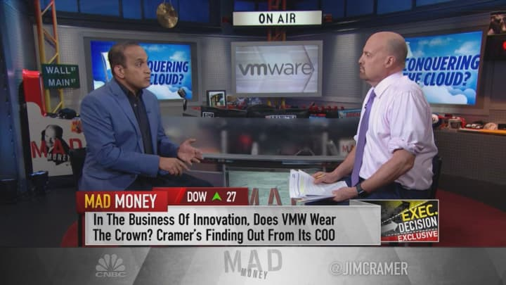 VMWare COO: 'I think we're in the golden age of software'