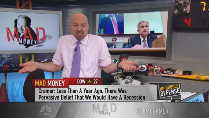 Cramer: The Fed is on the bulls' side — that's bad news for the bears