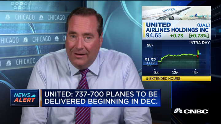 United Airlines discloses purchase of 19 used Boeing 737-700 planes
