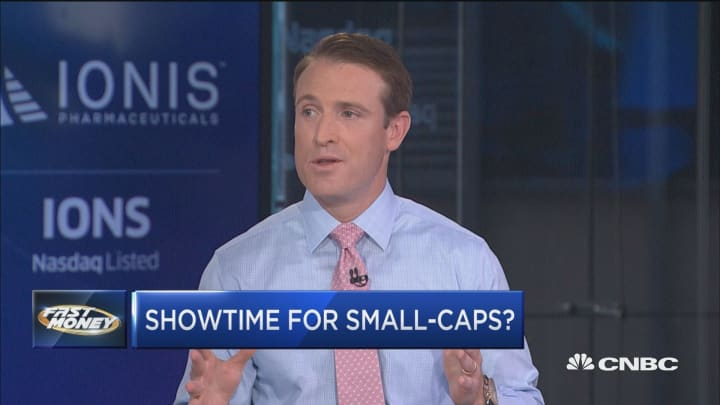 PNC's Jeff Mills says something may be bubbling under the surface for small caps