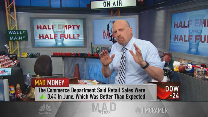 Cramer explains how the Fed is creating buying opportunities