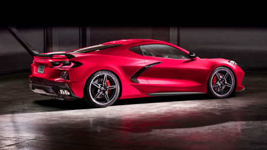 General Motors Just Unveiled Its Latest Corvette The 2020 Stingray