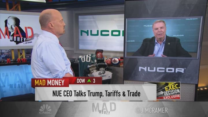 Nucor CEO: We're 'very pleased' with the impact of tariffs on steel