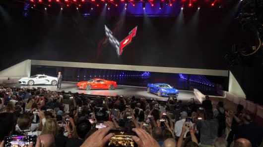 Chevy Reveals New 2020 Corvette Stingray As It Guns For Ferrari With
