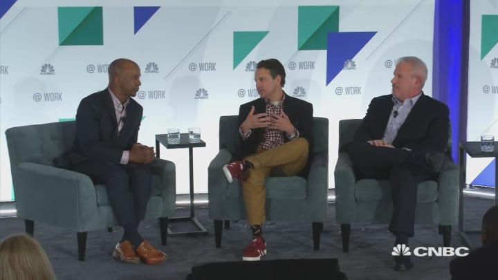 CFO 3.0: Adobe and Panera CFOs sit down with Jon Fortt and CNBC's @Work: Human Capital + Finance Summit