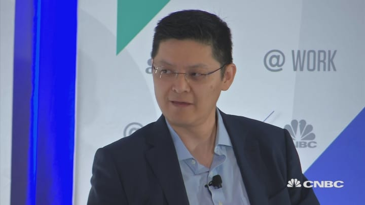 @Work Experiment: AI or Human? Ben Zhao sits down with Jon Fortt and CNBC @Work Human Capital + Finance Summit