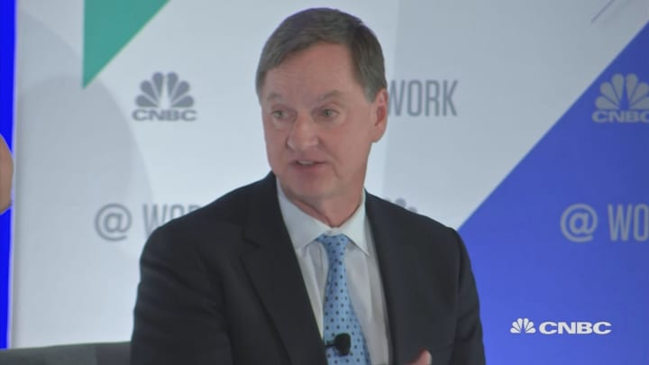 Charles Evans sits down with Steve Liesman at CNBC @Work Human Capital + Finance Summit