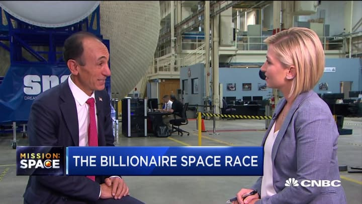 The little-known billionaires investing in the space race