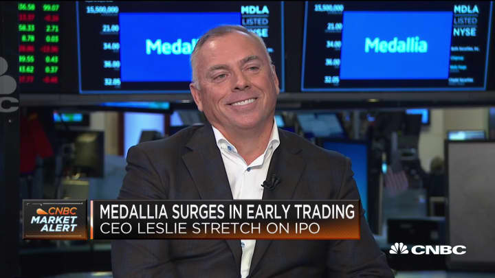 Medallia CEO Leslie Stretch on the company's IPO