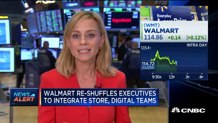 Walmart announces leadership shuffle to integrate stores and digital