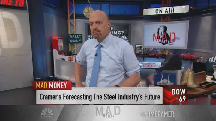 Cramer: Nucor is a buy now — a must-own stock if we get interest rate cuts