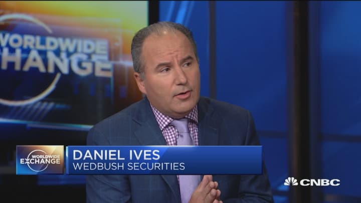 Wedbush's Ives: Expect strong earnings from the FAANG names this week