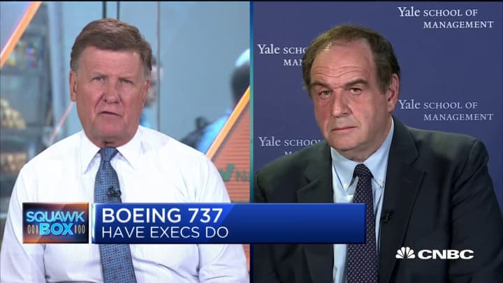 Yale's Sonnenfeld: Changing the name of the 737 Max wouldn't fool anyone