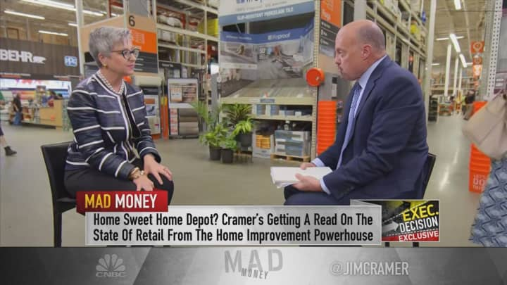 Home Depot CFO: One millennial homeowner habit is 'music to our ears'