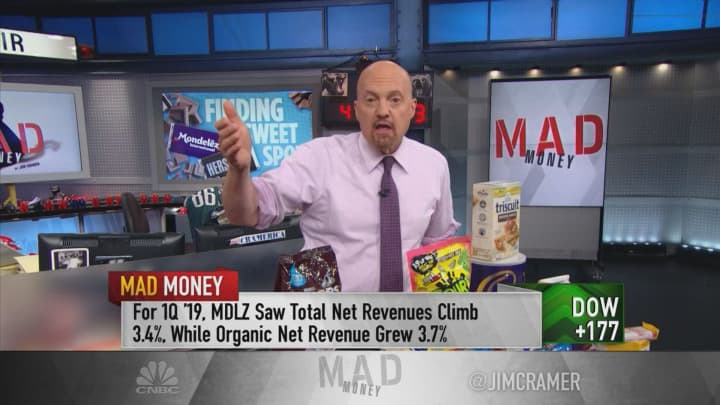 Hershey 'king of snacking,' but Mondelez a better buy