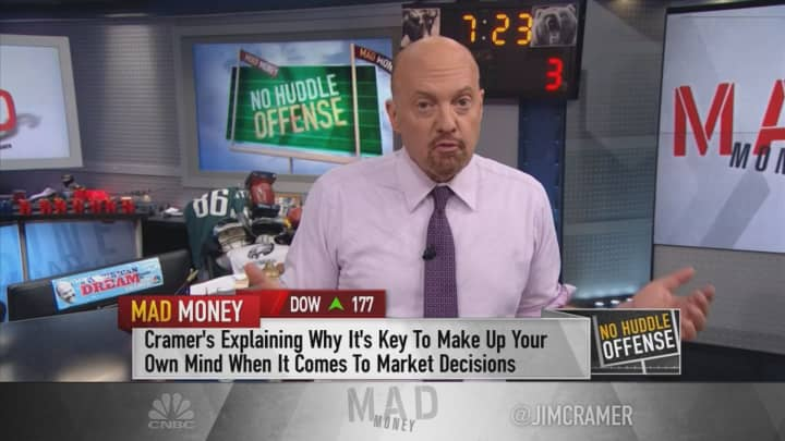 Cramer: Acting on other people's investing advice can be a sucker's game