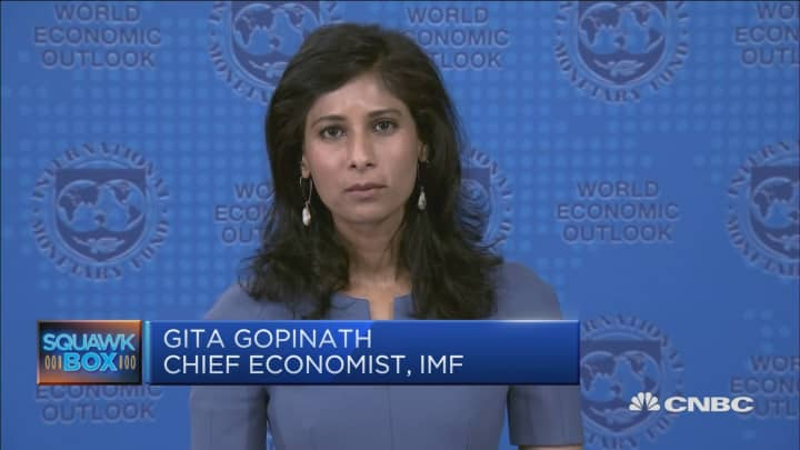 Why the IMF is revising global growth forecasts down