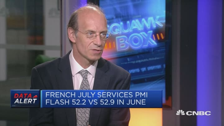 It's been an environment of moderate growth, strategist says