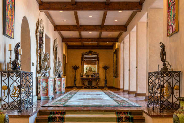 This hallway inside the Beverly House is over 100 ft. long