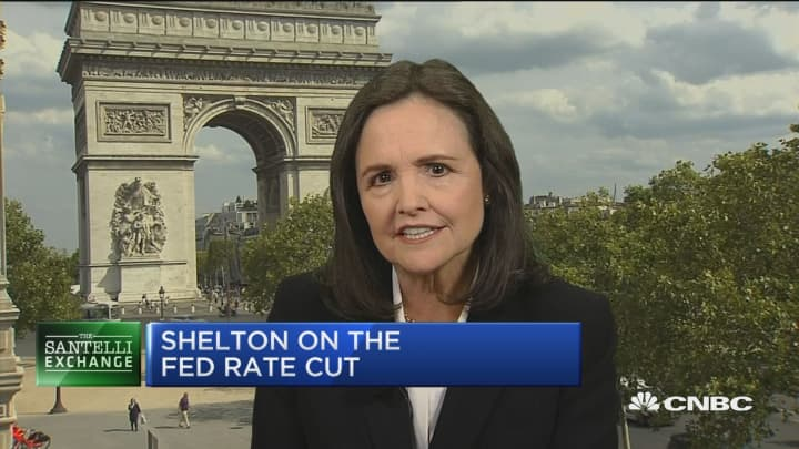 Santelli Exchange: Shelton on 1930's-style beggar-thy-neighbor competitive depreciations